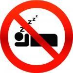 no-sleeping