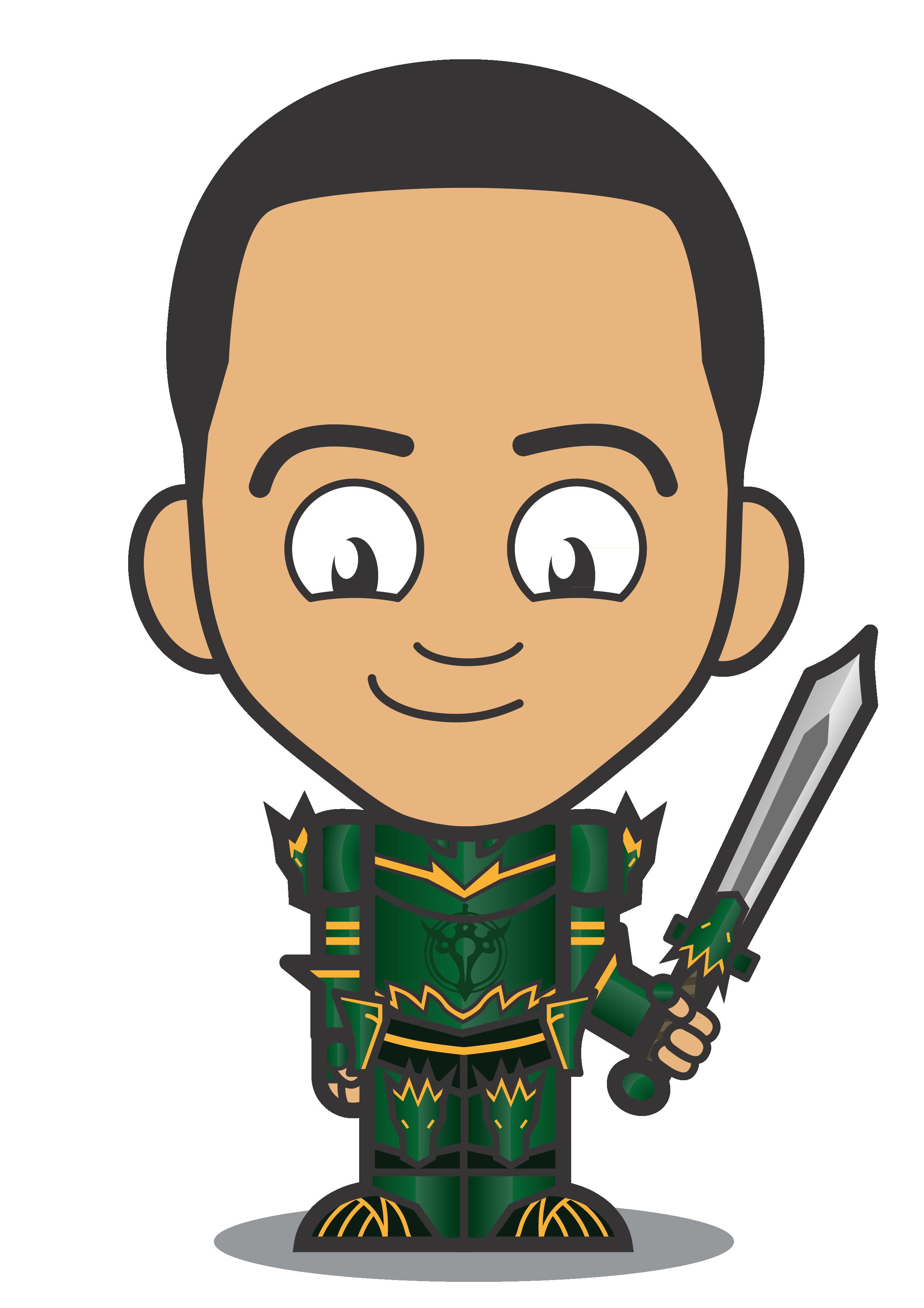 DJONES green knight